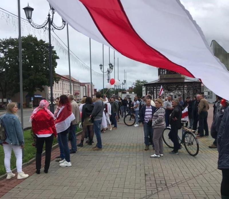 Марш единства в Глубоком