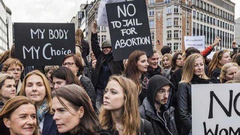 2016 год. Протесты польских женщин против абортов