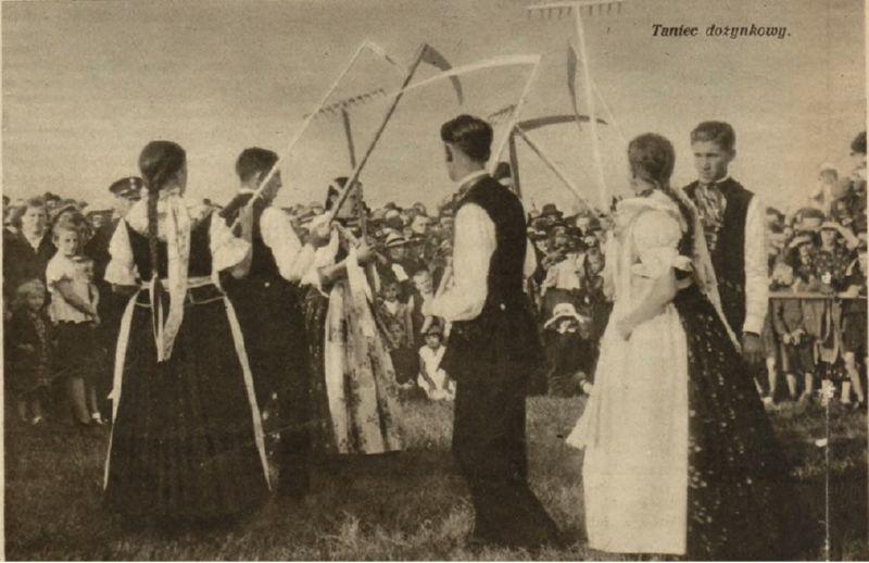 Танцы на Дожинках