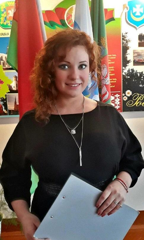 Алина Сергеевна Бохорова, учитель музыки средней школы № 11 Орши