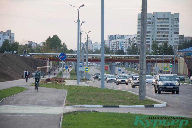 дорога на Билево Витебск