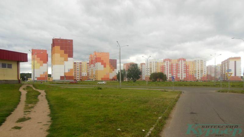 Улица Богатырева, где построят комплекс детсада и начальной школы