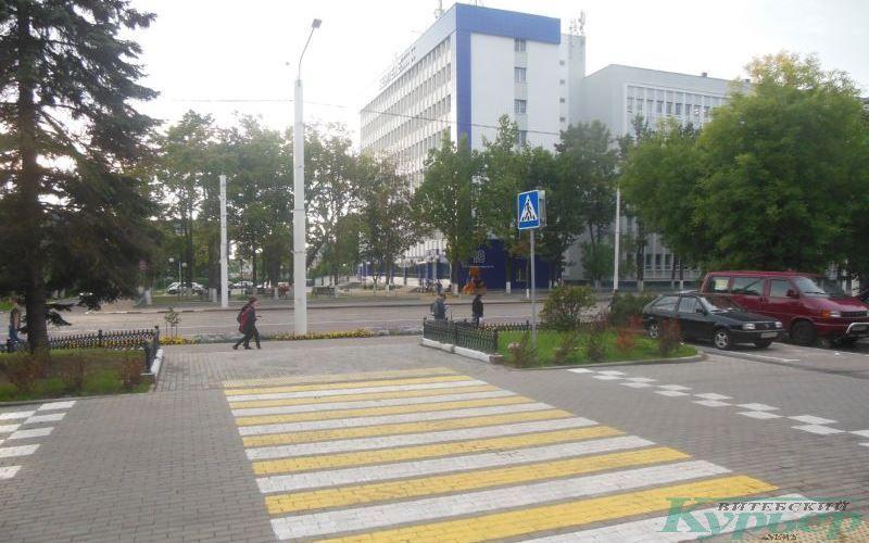 """Пешеходная """"зебра"""" у бывшего магазина """"Большой"""""""