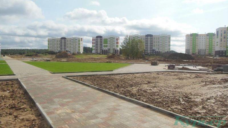 Место, где будет построена школа на улице Генерала Ивановского