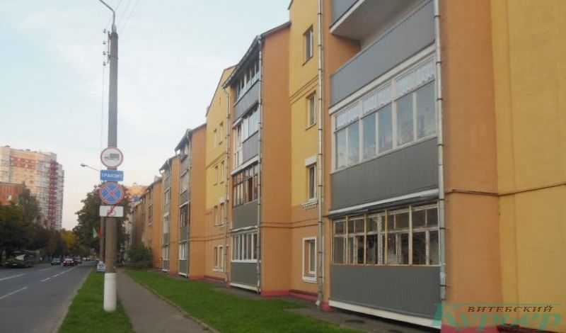 Улица Чапаева. Надстроенные двухэтажки
