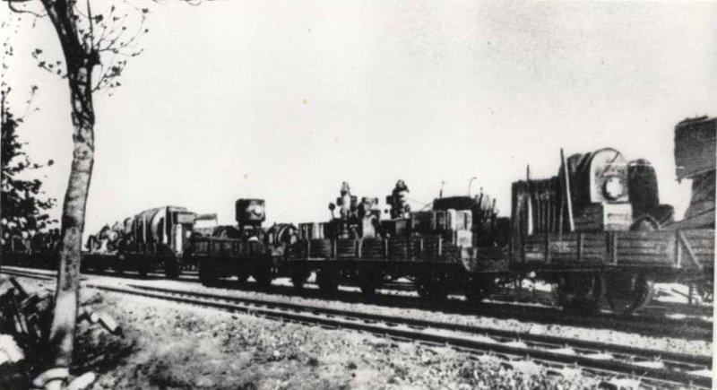 Эвакуация завода во время войны