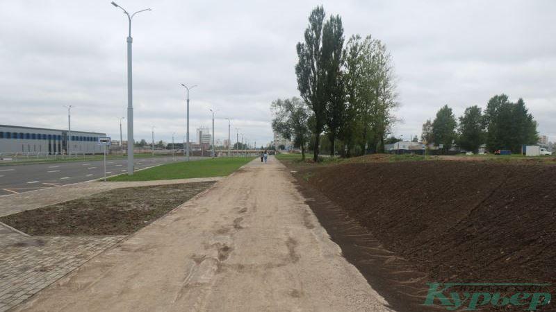Новая магистраль между проспектом Строителей и улицей Генерала Ивановского
