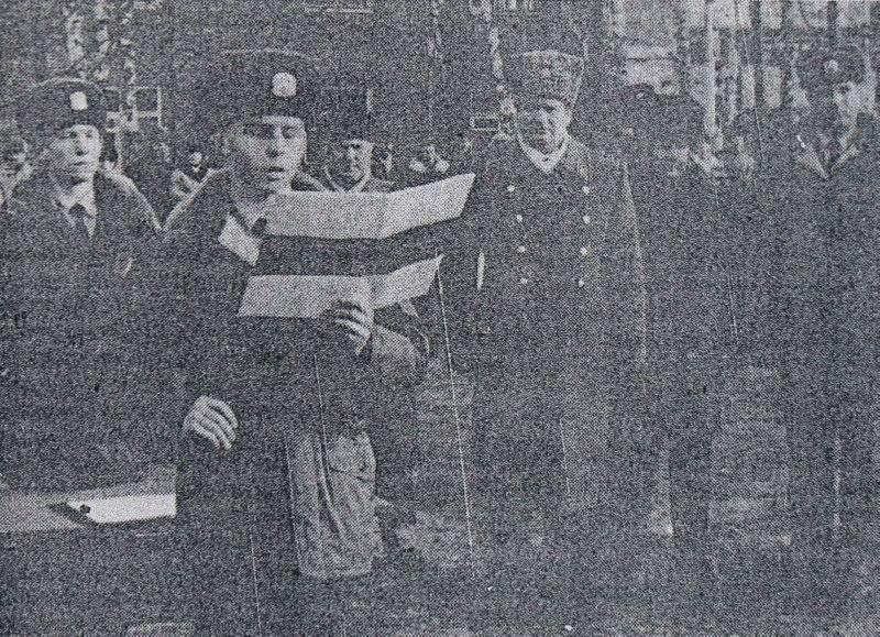 1994 год. Присяга солдат внутренних войск