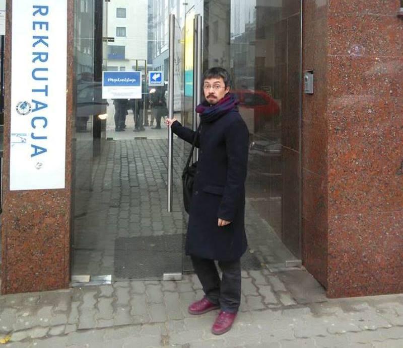 Денис Кондаков в Варшаве