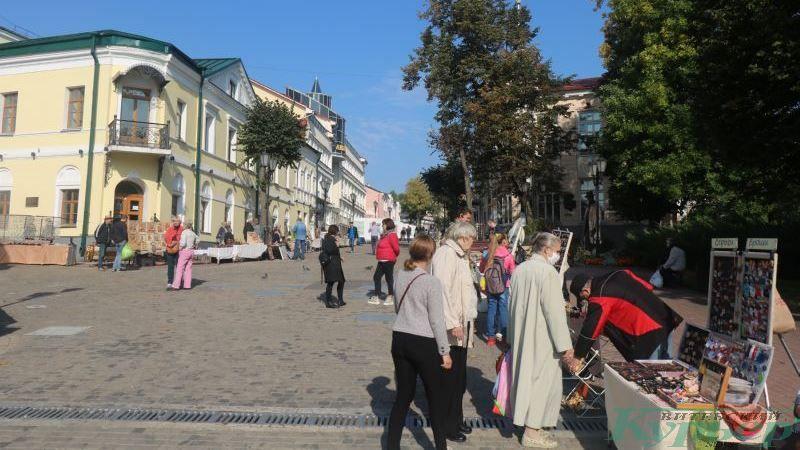 Ярмарка ремесленников на Суворова