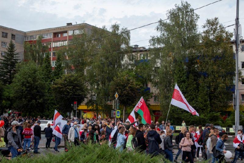 Новополоцк. Марш единства 6 сентября