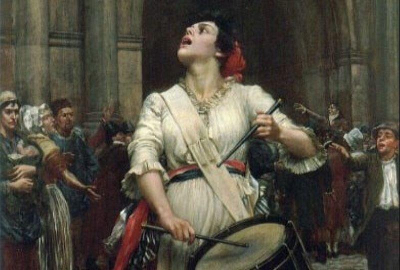 Поход женщин на Версаль в 1789 году