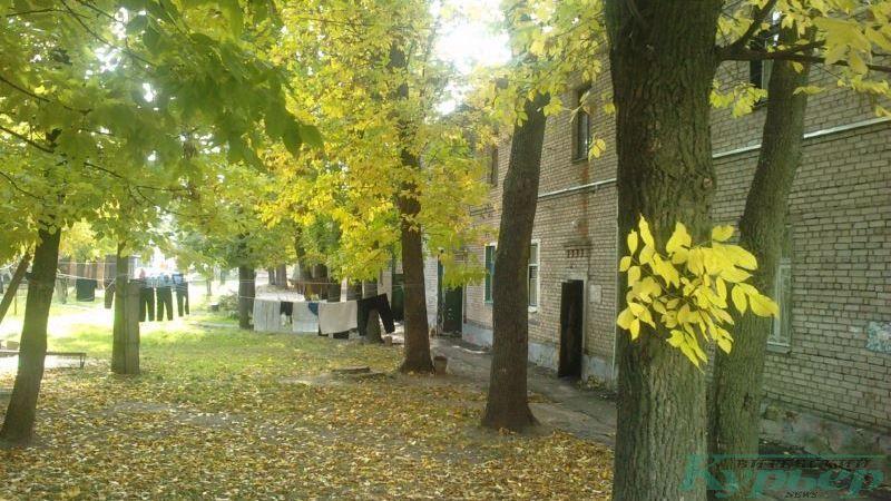 2012 год. Двор на улице Чапаева осенью