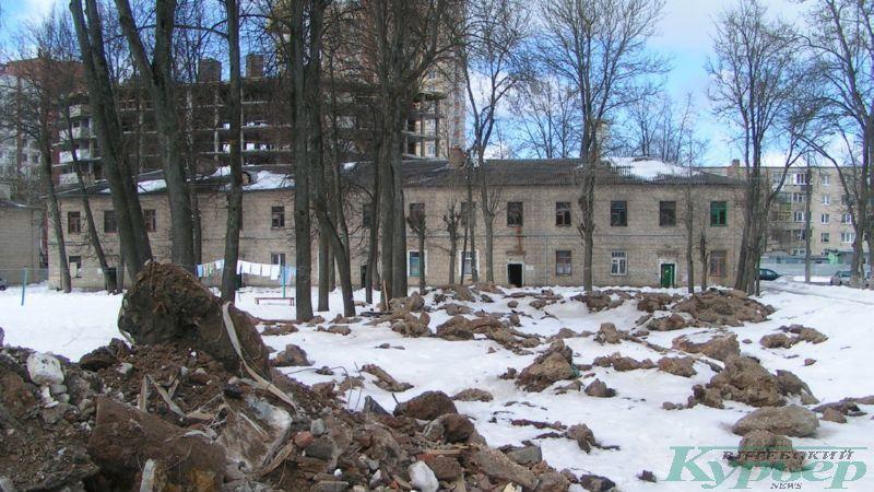 2013 год. Дом на улице Чапаева перед сносом