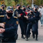 Как протестовали в Витебске 27 сентября