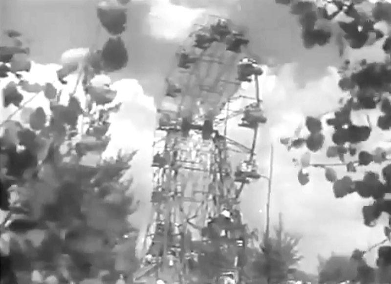 1964 год. Колеса обозрения в парке Мазурино