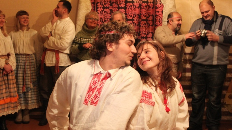 """2013 год. """"Женитьба Терешки"""" в деревне селище Лепельского района"""