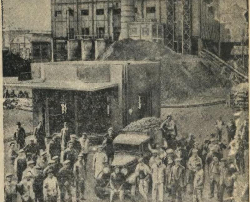 1939 год. Оккупационная забастовка