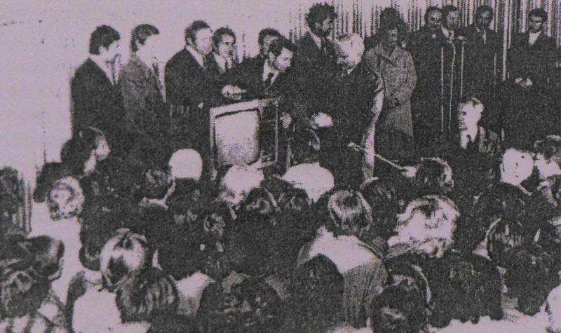 """12 сентября 1978 года. Первый телевизор """"Витязь"""""""