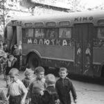 Как по Витебску ездил необычный детский кинотеатр «Малютка» на колесах