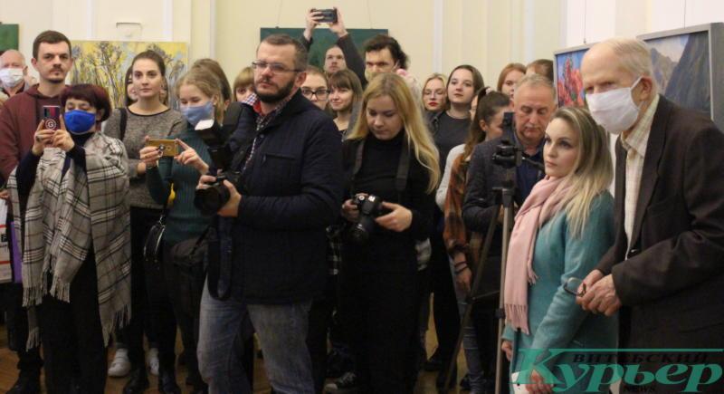 Открытие выставки Олега Костогрыза