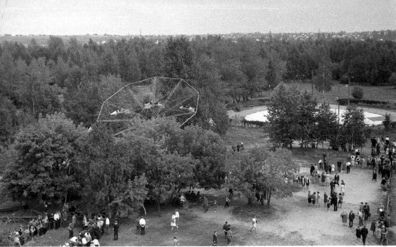 1967 год. В парке Мазурино