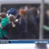 МВД подозревает, что в Витебске во время стычки с милиционерами девушка повредила служебный бус
