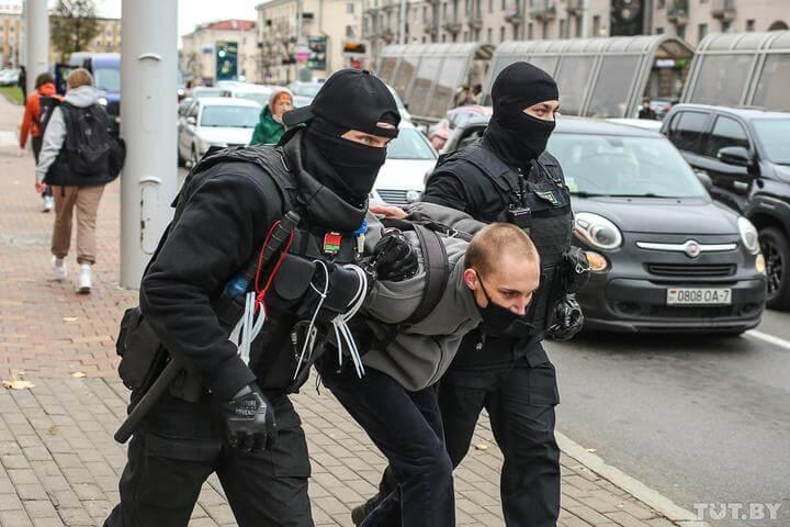 протесты Минск