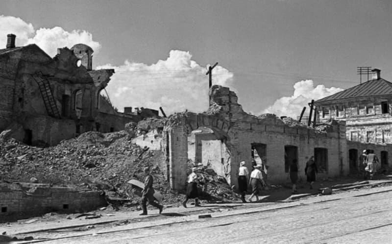 Витебск после войны